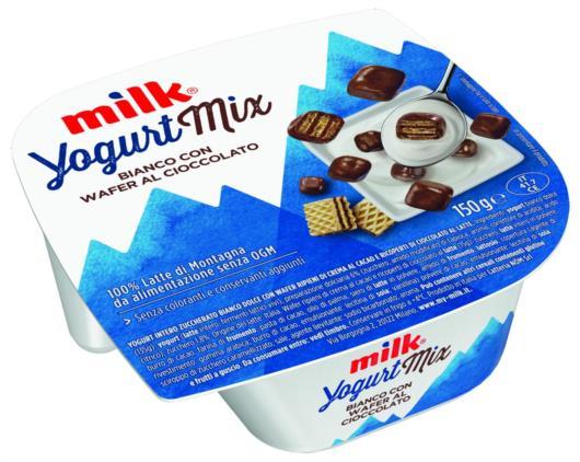 yogurt al caffè di montagna verde cremoso